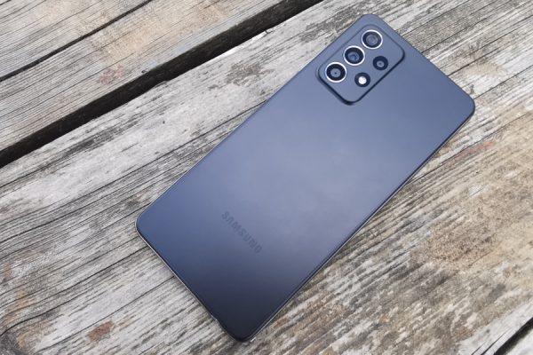 Samsung Galaxy A52 test