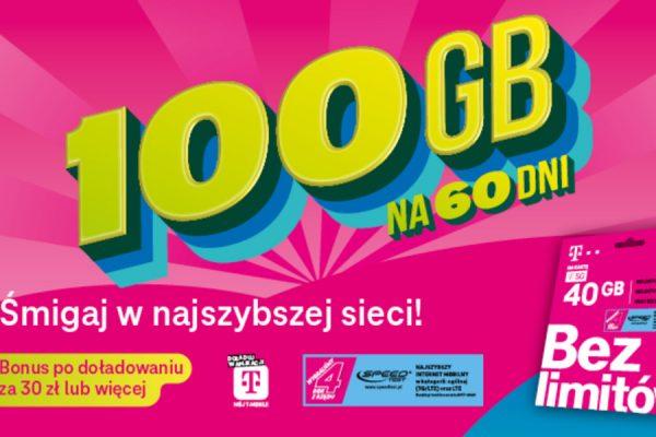 100 GB na wakacje w T-Mobile
