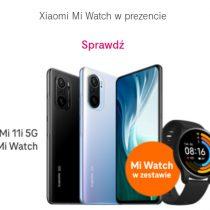 Xiaomi Mi 11i + Mi Watch taniej o 100 zł w T-Mobile