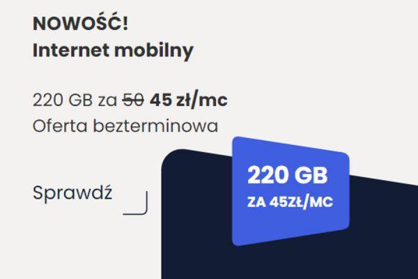 Internet Virgin 220 GB