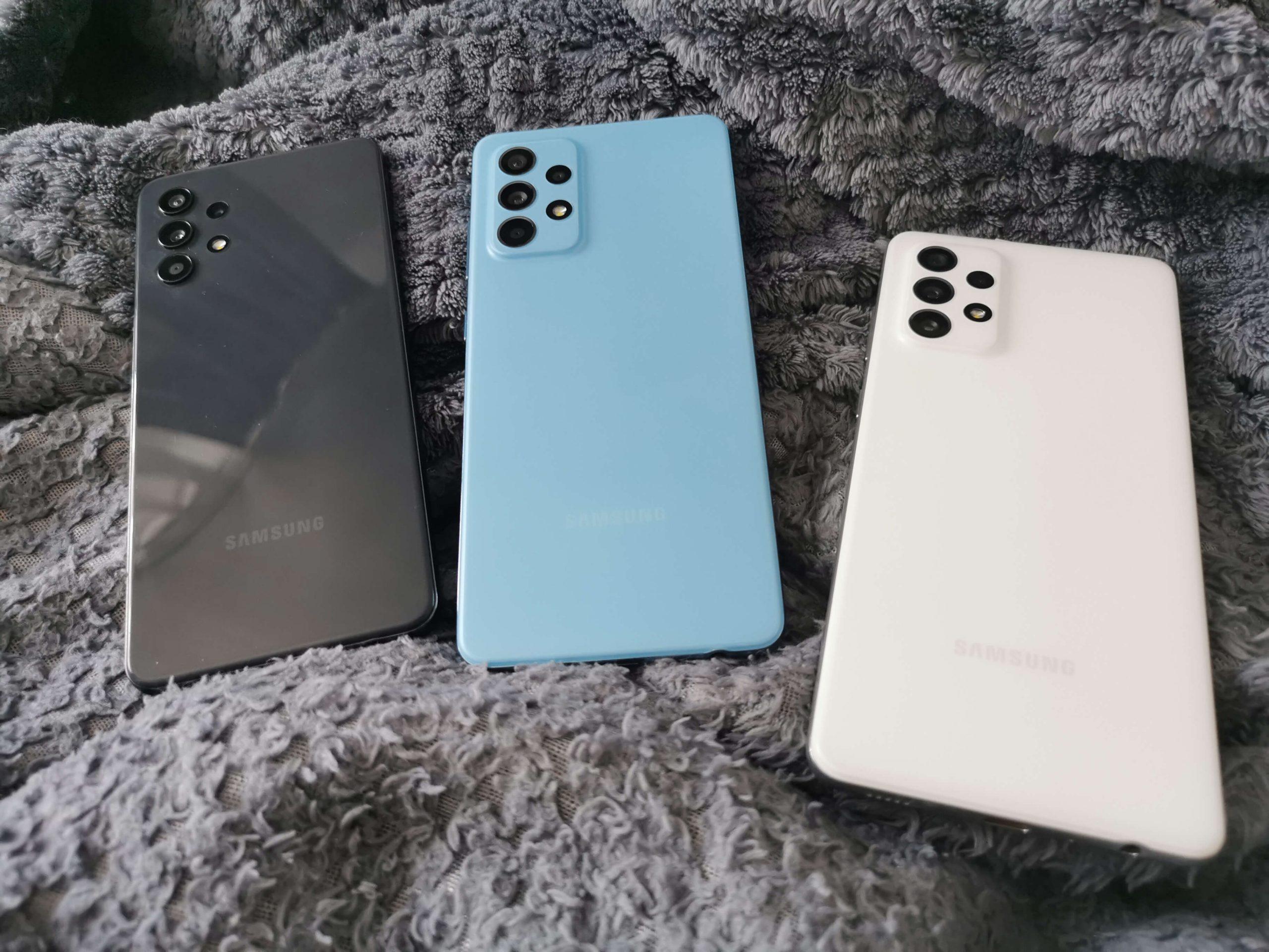 Samsung Galaxy A72, A52, A32 recenzja