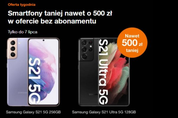 Samsung Galaxy S21 Ultra wyprzedaż