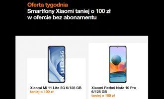 Oferta tygodnia Orange – Xiaomi taniej o 100 zł