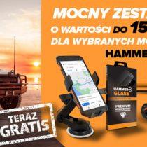 Gratisy o wartości 150 zł do 4 telefonów HAMMER w Play