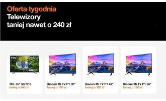 Oferta tygodnia Orange – telewizory taniej nawet o 240 zł