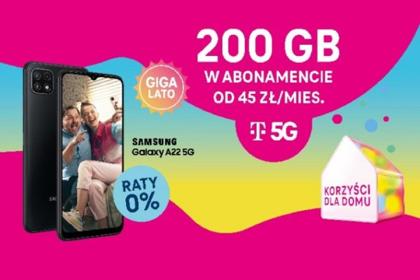 T-Mobile promocja 200 GB