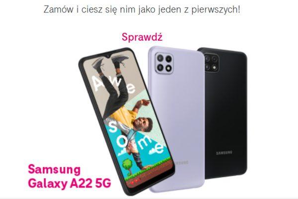 Samsung Galaxy A22 5G przedsprzedaż