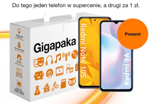 Orange drugi telefon w prezencie