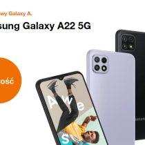 Nowość w Orange – Samsung Galaxy A22 5G taniej nawet o 233 zł