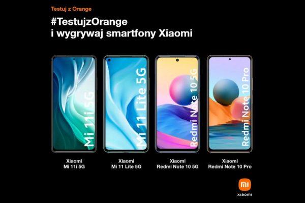 konkurs #TestujzOrange wygraj Xiaomi