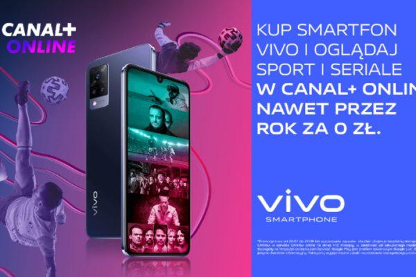 vivo promocja Canal+ Online