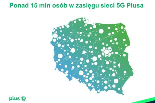 Plus zasięg 5G