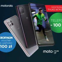 Motorola Moto G 5G tańsza o 100 zł w Plusie + prezent