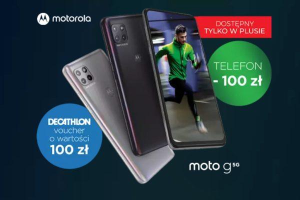 Motorola Moto G 5G promocja