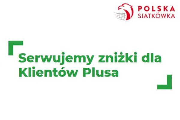 Plus promocja 10% bilety siatkówka Plus GSM