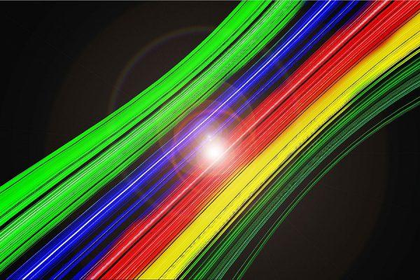 światłowód router