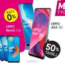 MEGA TYDZIEŃ w T-Mobile – drugi telefon OPPO tańszy o 50%
