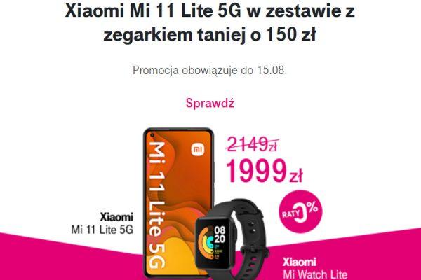 Xiaomi Mi 11 Lite promocja