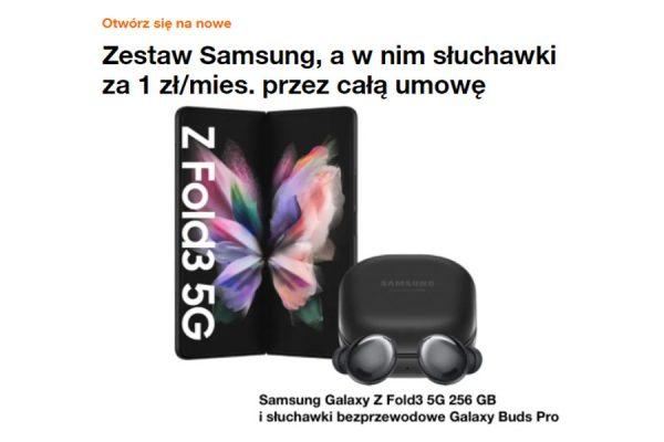 Orange promocja Samsung