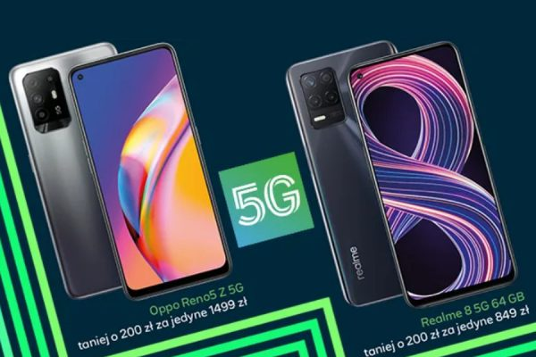 Plus telefony 5G promocja