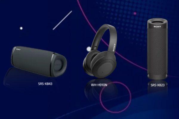 Plus akcesoria muzyczne Sony