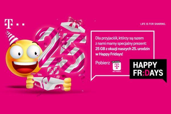 T-Mobile 25 GB promocja na urodziny