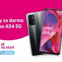 3 raty gratis OPPO A54 5G w T-Mobile