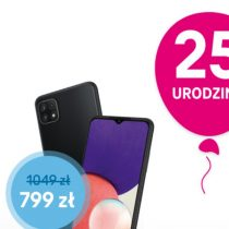 Samsung Galaxy A22 5G taniej online o 250 zł w T-Mobile