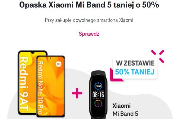 Xiaomi Mi Band 5 promocja