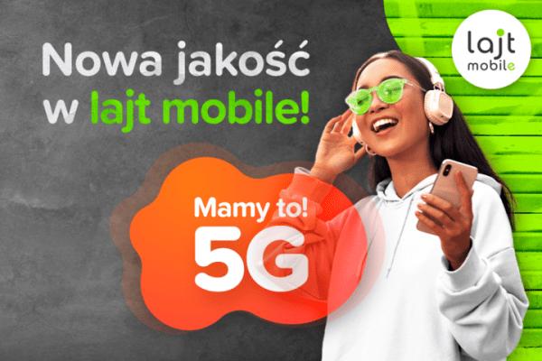 5G w lajt mobile