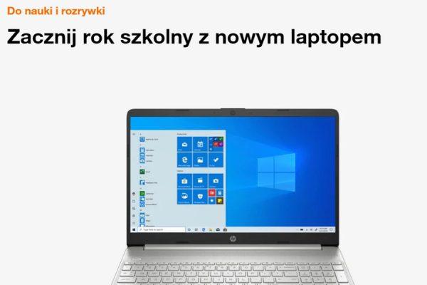 Laptop na raty Orange