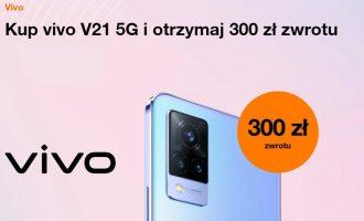 vivo V21 5G w Orange – zwrot 300 zł