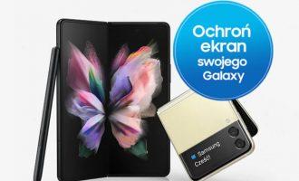 Galaxy Z Fold3 i Z Flip3 w Play z roczną ochroną ekranu