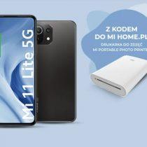 Drukarka do zdjęć w prezencie z Xiaomi Mi 11 Lite